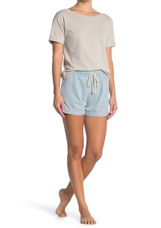 Joe's Jeans High Waisted Cuffed Lounge Shorts