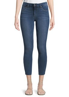 Joe's Jeans Jackie Skinny Crop Cut-Hem Jeans