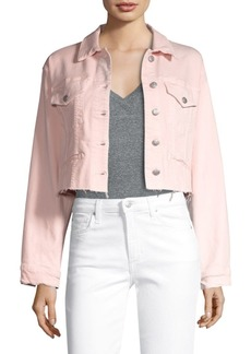 Joe's Jeans 80's Raw Hem Crop Jacket