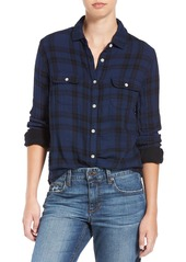 Joe's Jeans Joe's 'Amelia' Plaid Cotton Shirt