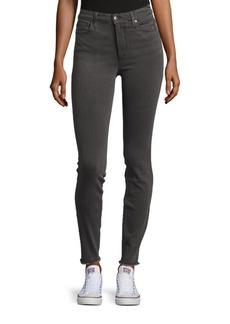 Joe's Jeans Aria Frayed-Hem Skinny Jeans