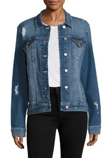 Joe's Jeans Joe's Ashley Distressed Denim Jacket