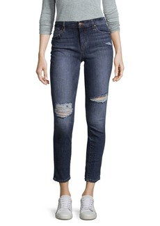 Joe's Jeans Banded Distressed Jeans