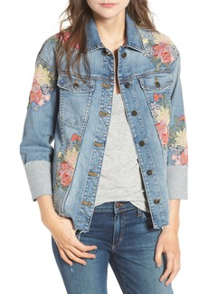 Joe's Belize Embroidered Denim Jacket