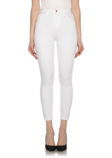Joe's Bella High Waist Crop Skinny Jeans (Hennie)
