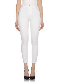 Joe's Jeans Joe's Bella High Waist Crop Skinny Jeans (Hennie)