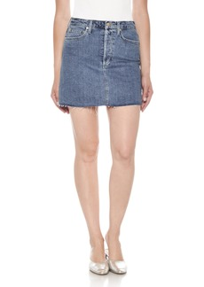 Joe's Bella High Waist Denim Skirt (Alaia)