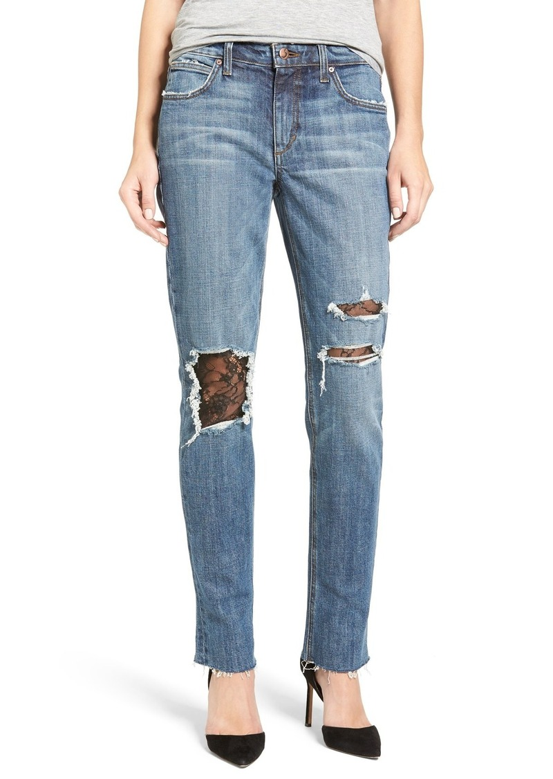 Joe's Jeans Joe's Billie Ripped Boyfriend Jeans (Leora)
