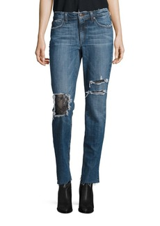 Joe's Billie Slim-Fit Distressed Ankle Jeans