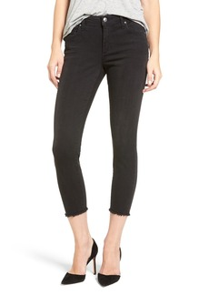 Joe's Blondie Frayed Hem Crop Skinny Jeans (Capressa)