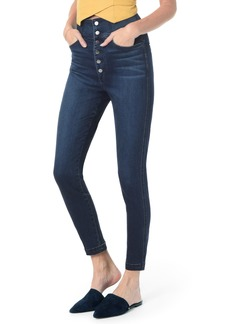 Joe's Jeans Joe's Button Fly High Waist Ankle Skinny Jeans (Sheena)