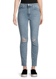 Charlie Distressed Ankle Jeans