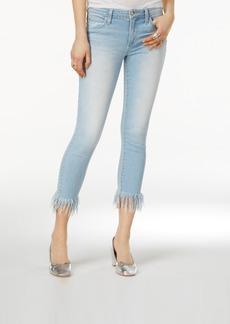 Joe's Charlie Ex Cotton Frayed Skinny Jeans