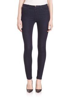 Joe's Charlie High Rise Skinny Dark Rinse Jeans