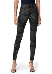 Joe's Jeans Joe's Charlie High Waist Ankle Skinny Jeans (Coated Camo)