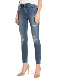 Joe's Charlie High Waist Ankle Skinny Jeans (Kandie)