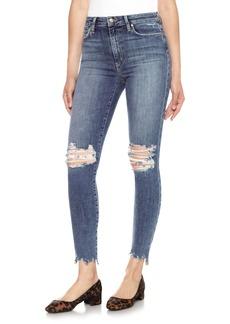 Joe's Charlie High Waist Ankle Skinny Jeans (Lonnie)