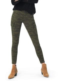 Joe's Jeans Joe's Charlie High Waist Cargo Ankle Skinny Jeans (Green Camo)