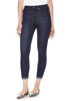 Joe's Charlie High Waist Crop Skinny Jeans (Laughlin)