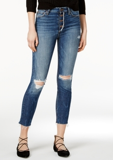 Joe's Charlie Ripped Button-Fly Jeans