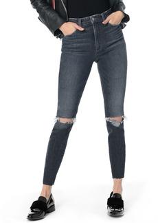 Joe's Jeans Joe's Charlie Ripped High Waist Ankle Skinny Jeans (Kaylie)