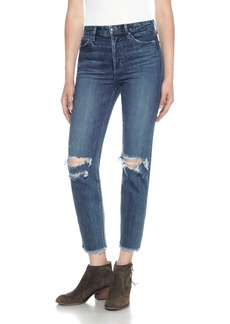 Joe's Classics Debbie High Waist Ankle Straight Leg Jeans (Rashida)