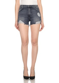 Joe's Collector's - Bella High Waist Cutoff Denim Shorts (Enni)