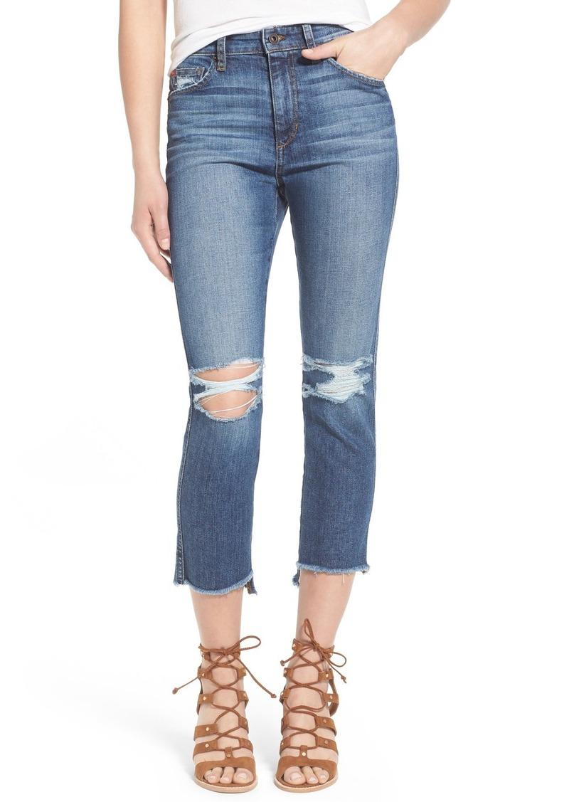 Joe's Jeans Joe's 'Collector's - Debbie' High Rise Crop Boyfriend Jeans (Coppola)