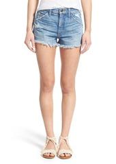 Joe's Jeans Joe's 'Collector's - Wasteland' Cutoff Denim Shorts (Mazie)