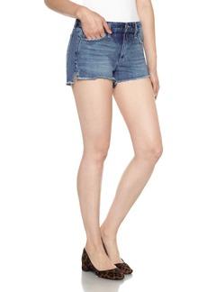 Joe's Collector's High/Low Denim Shorts (Yoselyn)