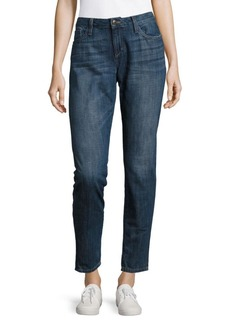 Joe's Jeans Cotton Phyllis Rolled Skinny Jeans