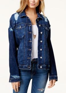 Joe's Jeans Joe's Cotton Ripped Denim Jacket