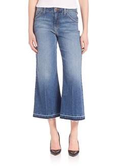 Joe's Jeans Joe's Cropped Wide-Leg Jeans