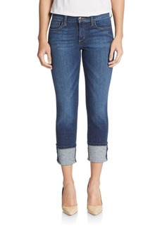 Joe's Cuffed Cropped Skinny Jeans