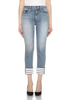 Joe's Debbie High Rise Cuff Crop Jeans (Parson)