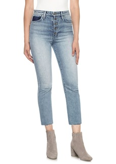 Joe's Debbie High Waist Crop Boyfriend Jeans (Kamryn)