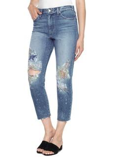 Joe's Jeans Joe's Debbie High Waist Crop Straight Leg Jeans (Natalya)