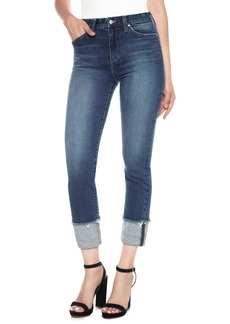 Joe's Debbie High Waist Cuff Ankle Jeans (Sutton)
