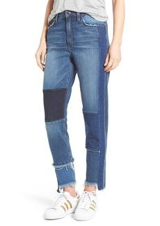 Joe's Jeans Joe's Debbie Patchwork Ankle Straight Leg Jeans (Kars)