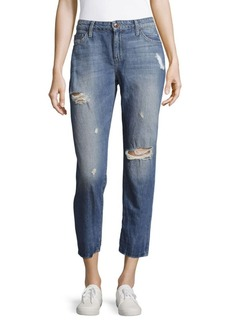 Joe's Jeans Distressed Crop Jeans