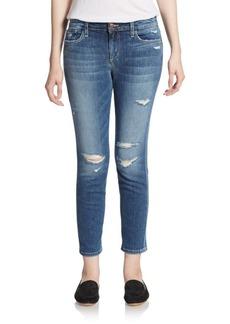Joe's Distressed Cropped Jeans