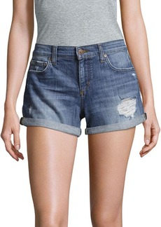 Joe's Jeans Distressed Denim Shorts