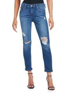 Joe's Distressed Five-Pocket Jeans