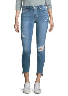 Joe's Distressed Skinny Ankle Jeans