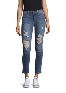 Joe's Jeans Distressed Skinny Denim Pants