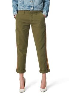 Joe's Jeans Joe's Elevated - The Trouser Velvet Side Stripe Ankle Cargo Pants