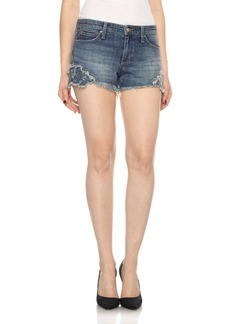 Joe's Embroidered Cutoff Denim Shorts