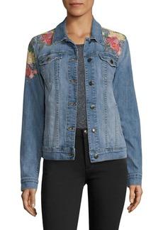 Joe's Jeans Joe's Embroidered Denim Jacket