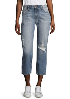 Joe's Exclusive Ex Lover Distressed Slouchy Skinny Ankle Jeans