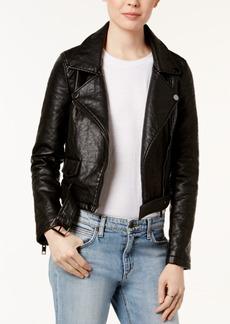 Joe's Jeans Joe's Faux-Leather Moto Jacket